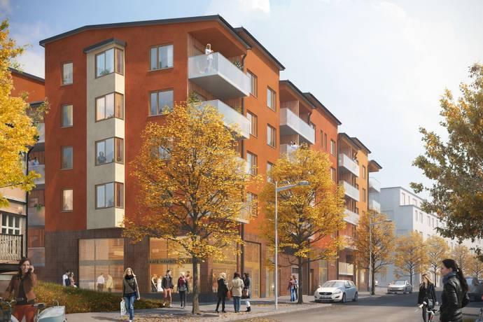 Bild: 2 rum bostadsrätt på Brännäsgatan Norra 7, Norrtälje kommun Norrtälje Hamn