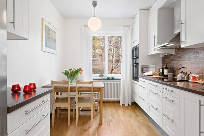 Bild: 3 rum bostadsrätt på Slalomvägen 24, 1 tr, Stockholms kommun Västertorp