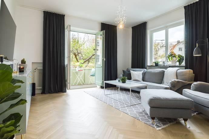 Bild: 2 rum bostadsrätt på Ensittarvägen 5, Stockholms kommun Stora Essingen