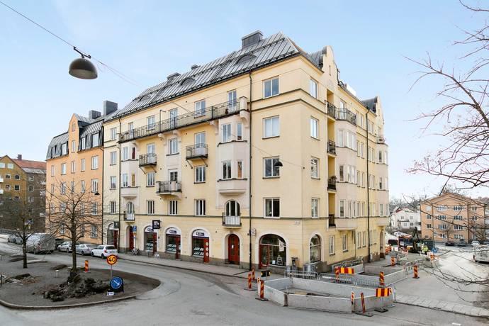 Bild: 3 rum bostadsrätt på Råsundavägen 121A, 2 tr, Solna kommun Gamla Råsunda