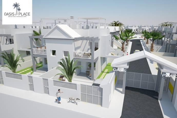 Bild: 3 rum radhus, Spanien Upplev fastigheten i 360° Virtual Reality