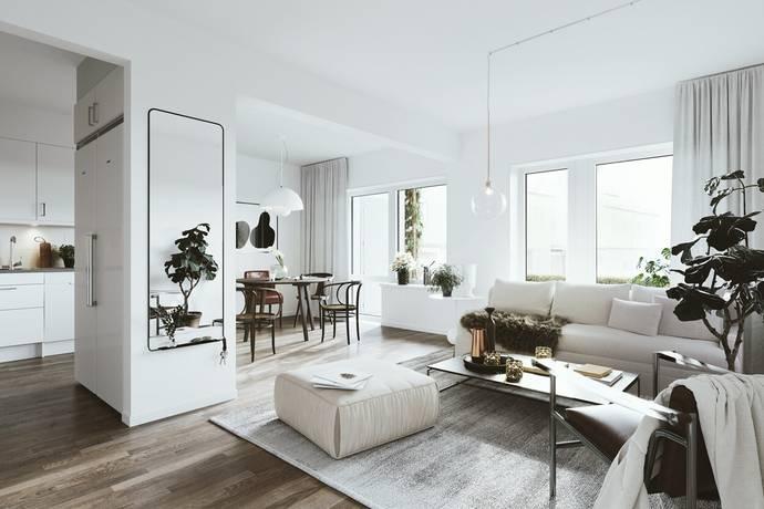 Bild: 3 rum bostadsrätt på Ädelstensvägen 3, Kungsbacka kommun Kolla Parkstad