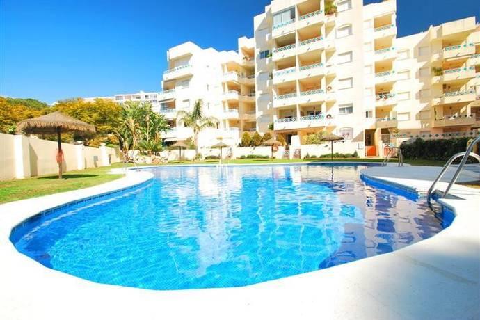 Bild: 4 rum bostadsrätt på Lägenhet i strandnära läge i Marbella med fantastisk pool och stor terrass., Spanien Recidencial El Arenal