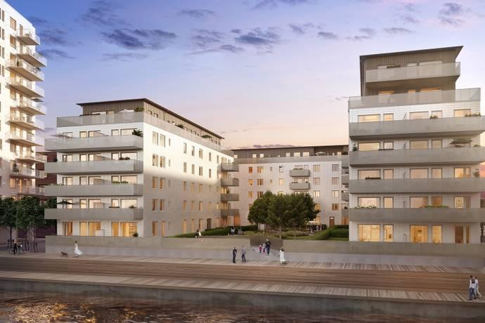 Bild: 5 rum bostadsrätt på Dockgatan, Malmö kommun Dockan