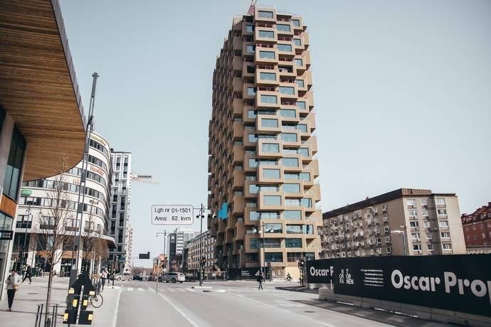 Bild: 2 rum bostadsrätt på Torsplan 8, plan 5 - Norra Tornen, Stockholms kommun Hagastaden Vasastan