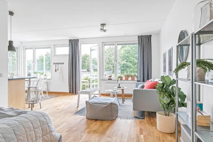 Bild: 1 rum bostadsrätt på Gösta Wahlströms väg 9, Uppsala kommun Rickomberga