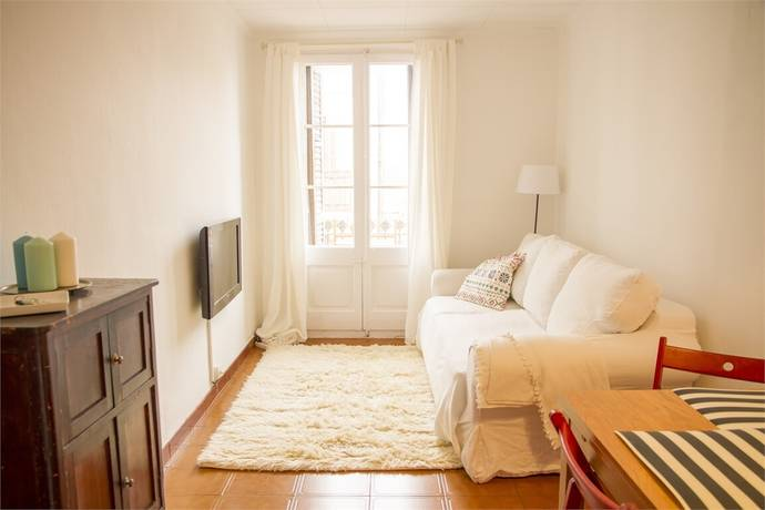Bild: 3 rum bostadsrätt på Ljus liten pärla med härlig utsikt, Spanien Barcelona | Poble Sec