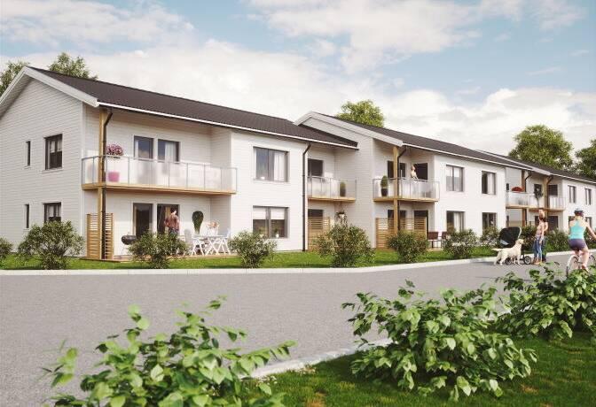 Bild: 3 rum bostadsrätt på Smedvägen 4 D, Varbergs kommun Trönninge