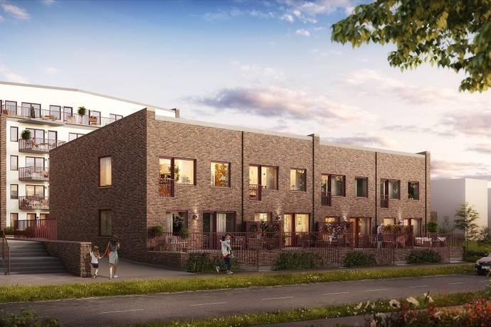 Bild: 4 rum radhus på Romares väg / Senderödsvägen, Helsingborgs kommun Pålsjö