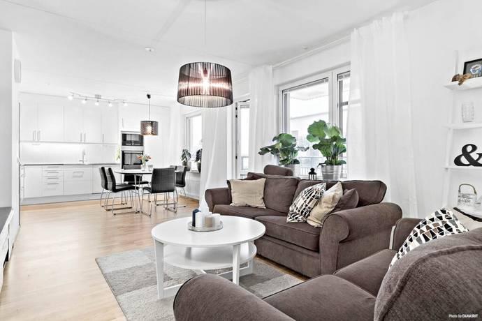 Bild: 2 rum bostadsrätt på Gimogatan 8 B, Uppsala kommun Luthagen