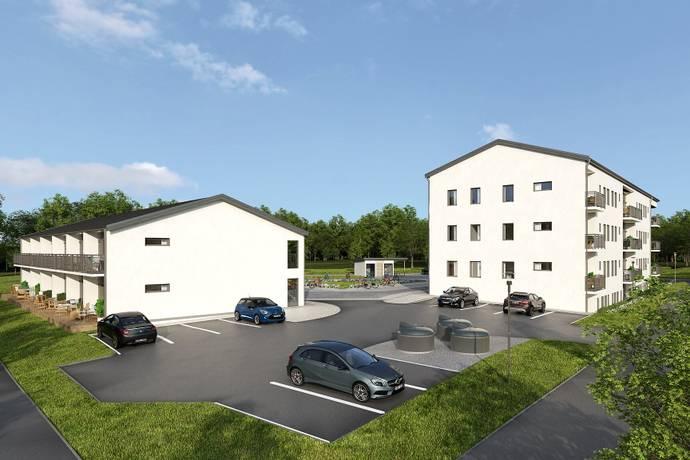 Bild: 1 rum bostadsrätt på Blomsterkungsvägen 116, Stockholms kommun Hässelby Backlura