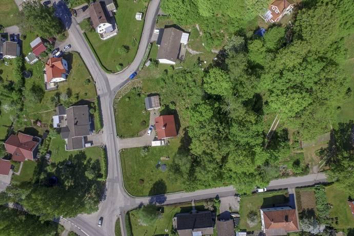 Bild: tomt på Paradisvägen 1, Borås kommun