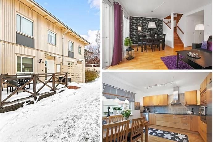 Bild: 5 rum radhus på Södra Atriumvägen 35, Österåkers kommun Kvisslingby/Storhagen