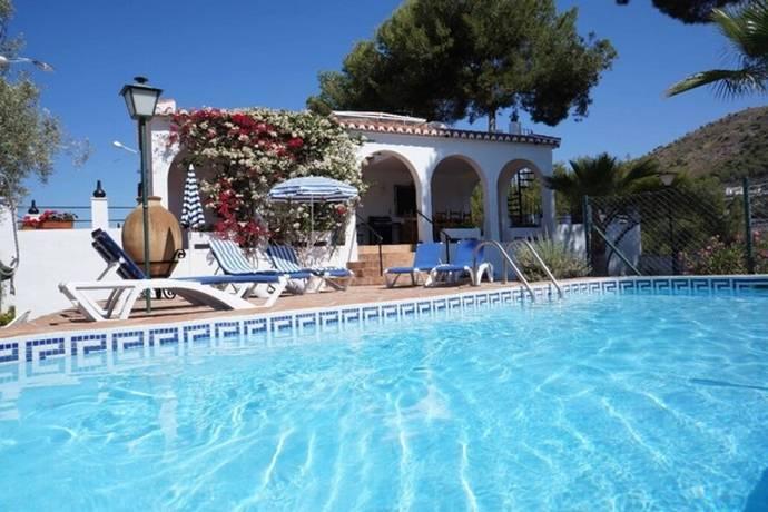 Bild: 4 rum villa på Lantlig villa i Frigiliana, Spanien Frigiliana
