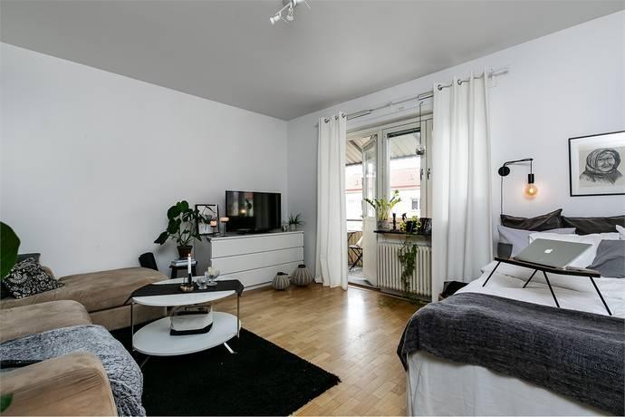 Bild: 1 rum bostadsrätt på Västra Nobelgatan 30 B, Örebro kommun Väster