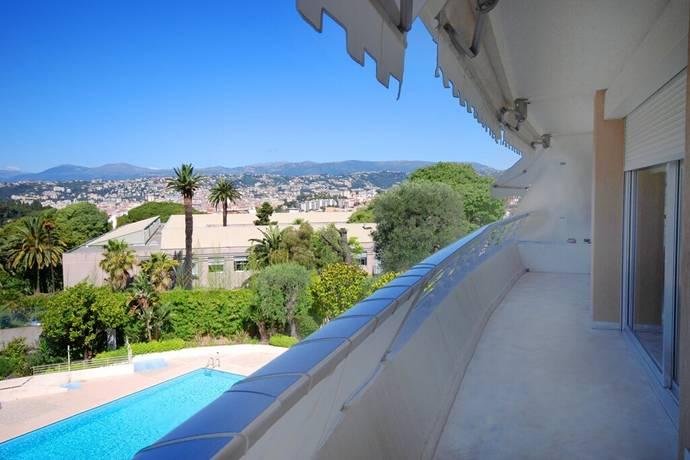 Bild: 4 rum bostadsrätt på Nice, Mt Boron, Frankrike Franska Rivieran
