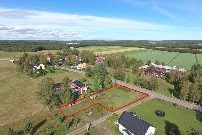 Bild: tomt på Baggböle 69, Umeå kommun Baggböle