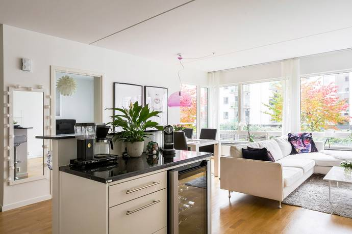 Bild: 2 rum bostadsrätt på Seglatsgatan 8, 2tr, Stockholms kommun Hammarby Sjöstad