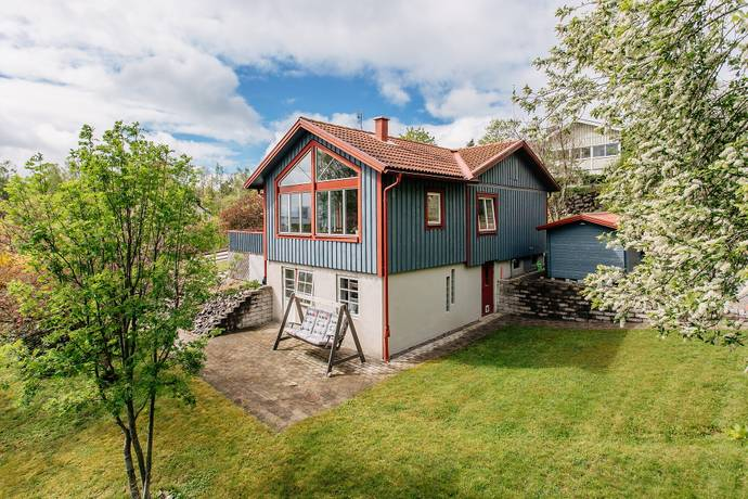 Bild: 5 rum villa på Billerudsgatan  14A, Grums kommun Grums