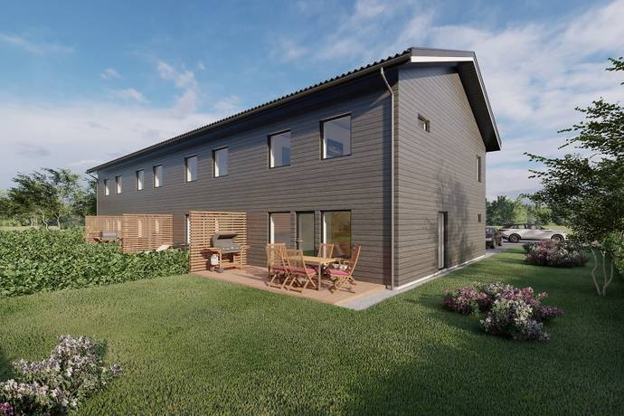 Bild: 4 rum radhus på Inspelsgatan 2-8, Lekebergs kommun Lanna