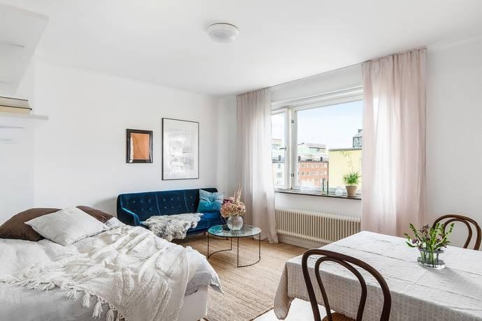 Bild: 1 rum bostadsrätt på Ankdammsgatan 30, Solna kommun Solna Skytteholm