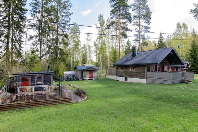 Bild: 4 rum villa på Kvarnfallsvägen 1, Hofors kommun Malmjärn