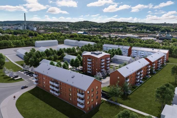 Bild: 2 rum bostadsrätt på Ingeborg Hammarskjölds Gata, Göteborgs kommun Kviberg