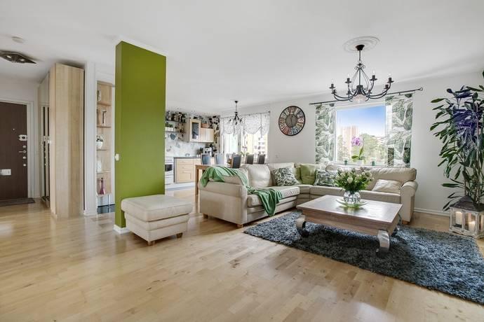 Bild: 3 rum bostadsrätt på Nystadsgatan 12, Stockholms kommun Akalla