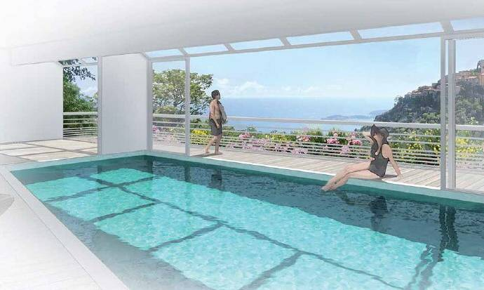 Bild: 3 rum bostadsrätt på Eze, Frankrike Franska Rivieran