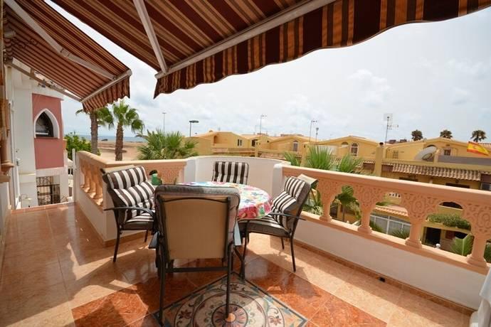Bild: 4 rum bostadsrätt på Stor Terrass / Havsutsikt, Spanien 1:a linjen  i Rosaleda