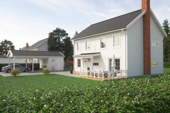 Bild: 6 rum villa på Hagabergsområdet 2 planshus, Trosa kommun Hagaberg