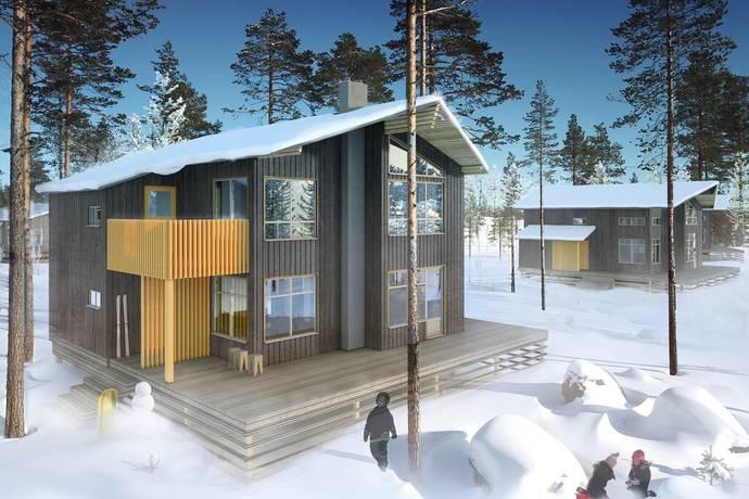 Bild: 6 rum villa på Bergsbyvägen, Älvdalens kommun Idre Bergsby