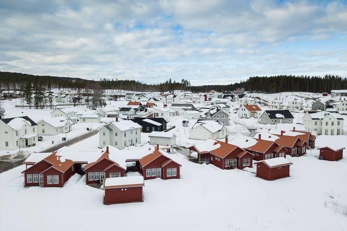 Bild: tomt på Ingeborg Hermelins väg, Falu kommun Lilla Källviken