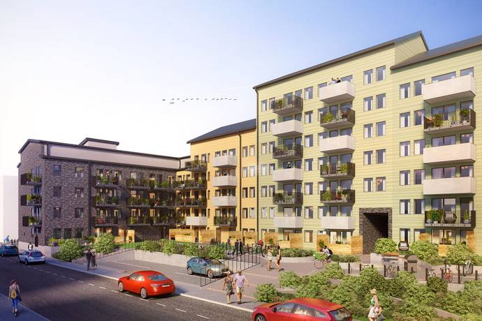 Bild: 1 rum bostadsrätt på Råbyvägen 57 E, Uppsala kommun Gränby