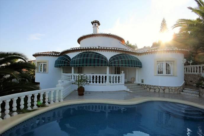 Bild: 3 rum villa på Villa ovanför La Sella Golfbanan i Denia, Spanien COSTA BLANCA - DENIA