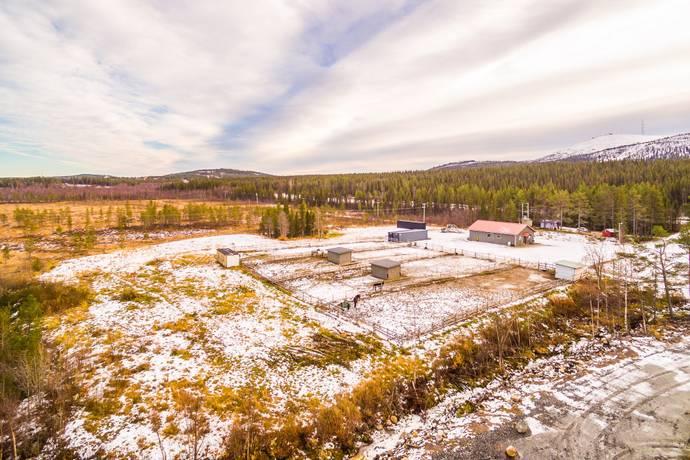 Bild: 0 rum gård/skog på Porjusvägen  , Gällivare kommun
