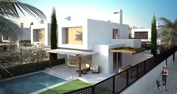 Bild: 4 rum villa på Villas i separata tomter, Spanien Mar de Cristal - Costa Calida
