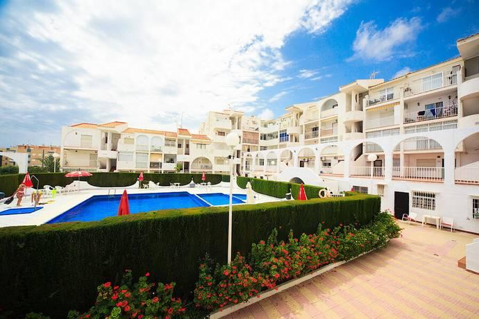 Bild: 3 rum radhus på Pool & 500m till stranden, Spanien 3:a i La Mata