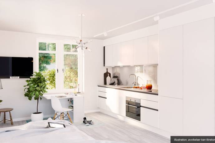 Bild: 1 rum bostadsrätt på Vendevägen 77, Danderyds kommun