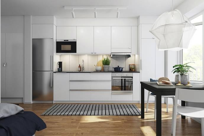 Bild: 1 rum bostadsrätt på Lilla varvsgatan, Malmö kommun Västra hamnen
