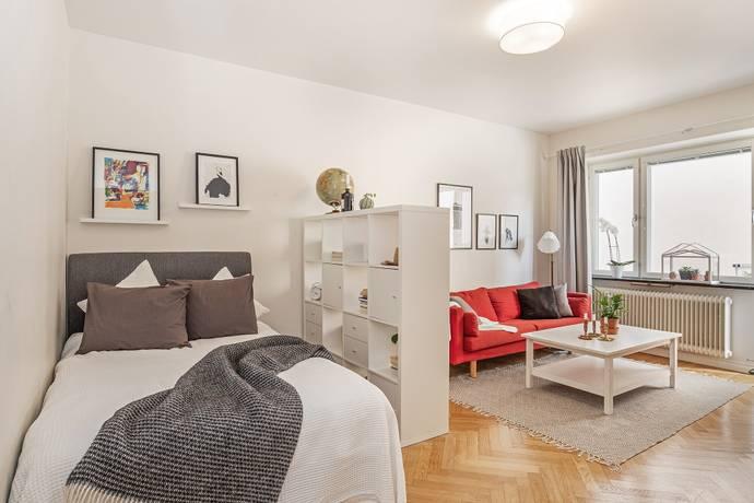 Bild: 1 rum bostadsrätt på Berzeliigatan 6, Linköpings kommun Vasastaden