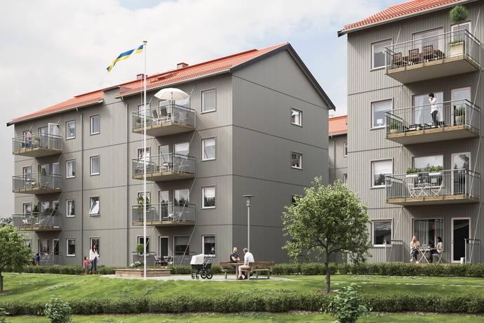 Bild från Kronogården - BoKlok Skogstomten
