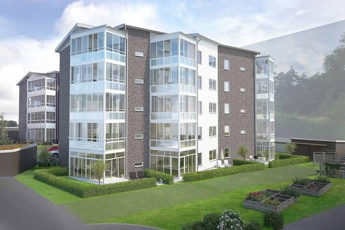 Bild: 2 rum bostadsrätt på Ribstonvägen 4, Varbergs kommun Göingegården