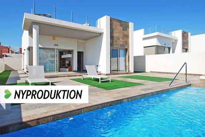 Bild: 4 rum villa på Villor med pool omgivna av spansk natur, Spanien Torrevieja Söder - Villamartin