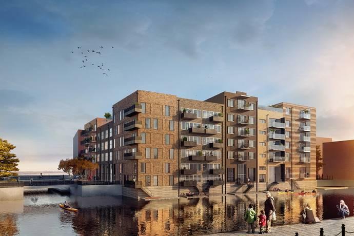 Bild: 2 rum bostadsrätt på Ophelias Brygga, Oceanhamnen, Helsingborgs kommun