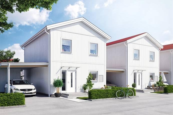 Bild: 5 rum radhus på Sjölundavägen, hus 104, Lidköpings kommun Erstorp