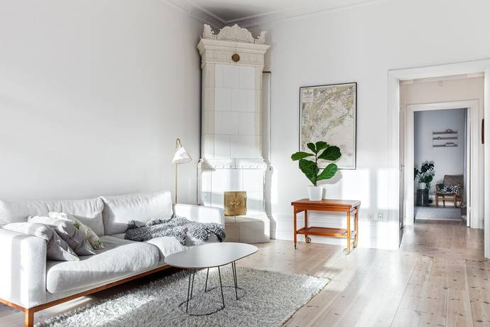 Bild: 2 rum bostadsrätt på Frejgatan 4, 2 tr, Stockholms kommun Östermalm/Norrmalm