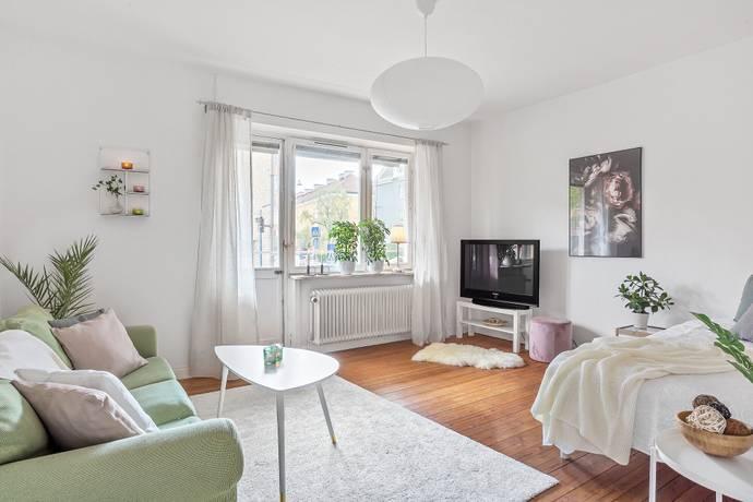 Bild: 1,5 rum bostadsrätt på Vaksalagatan 38A, Uppsala kommun Höganäs/Centrum