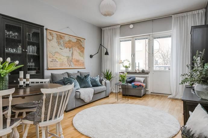 Bild: 2 rum bostadsrätt på Fleminggatan 18B, Gävle kommun Södertull