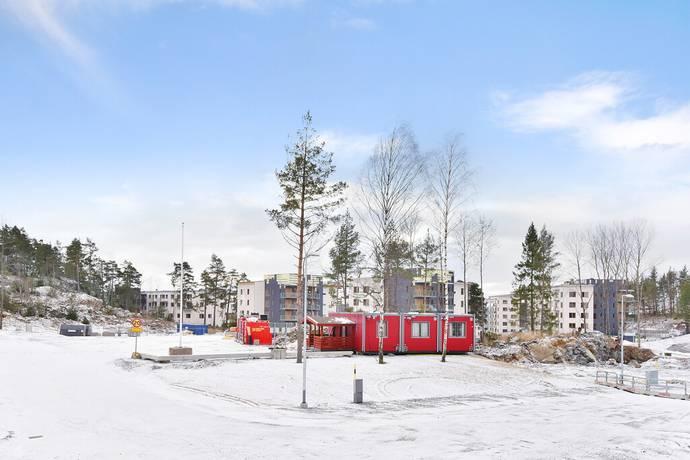 Bild: tomt på Tant gredelins väg 10-24, Botkyrka kommun UTTRAN